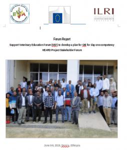 HEARD forum Report