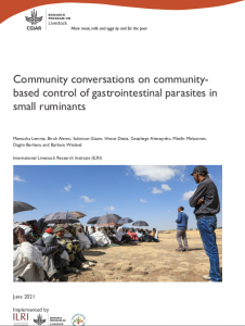 Community conversation o community-based control of gastrointtestinal parasites in small ruminants